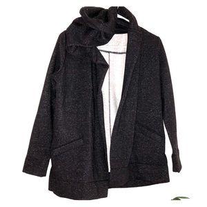 NWOT LOFT Open Hooded Cardigan - XSP